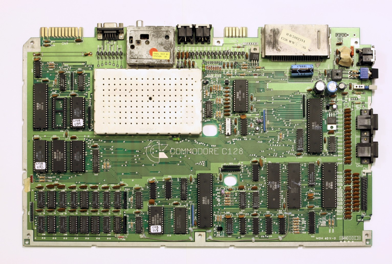 C128 Vs C128d Motherboard World Of Jani